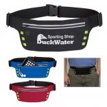 Safety First! Running Fanny Pack with 6 LED Lights