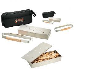 BBQ 3 Piece Smoke Box Set