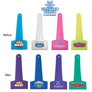 Full Color Digital Mood Color Changing Ice Scraper