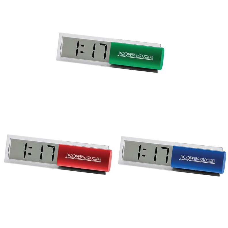 See Through Clock Calendar