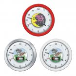 Full Color Dome Wall Clock