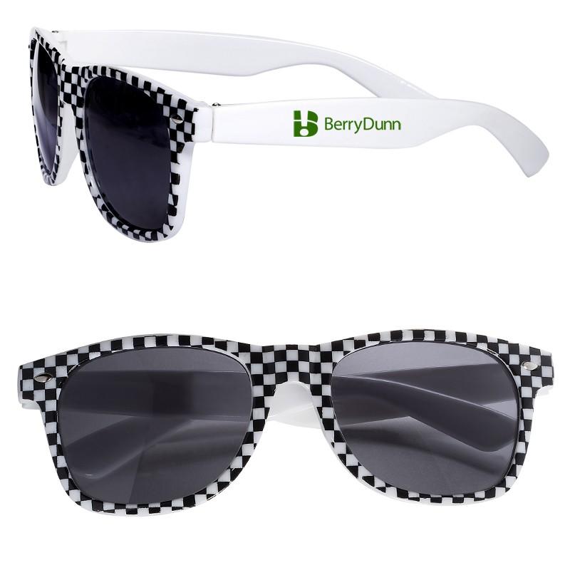 Racing Flag Sunglasses