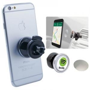 Easy-Installation Magnetic Media Air Vent Phone Holder