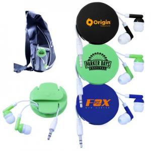 Wrap-Around Protective Earbuds Case