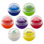 0.3 Oz. Spherical Lip Bomb w/Flat Bottom