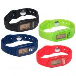Get Fit Tap N' Read Pedometer Watch with 3D Accelerometer Sensor