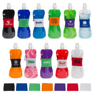The Flex 16 Oz. Freezable Water Bottle with Easy-To-Pull Top