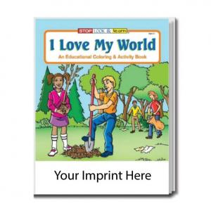 """I Love My World"" Coloring Book"