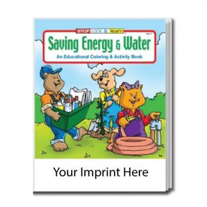 """Saving Energy And Water"" Activity Book"