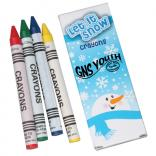 Winter Theme Crayons