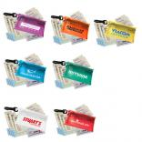 10-Piece First Aid Kit in Translucent Vinyl Pouch