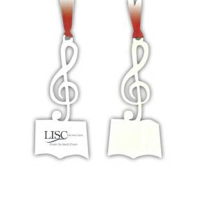 Music Note Shape Bookmark