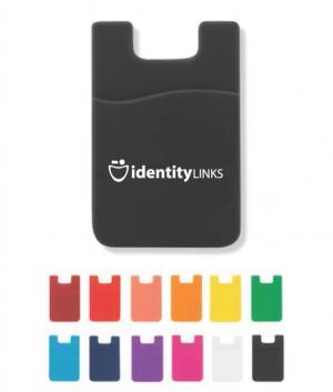 RFID Data Blocking Silicone Wallet