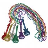Guitar Beaded Necklace