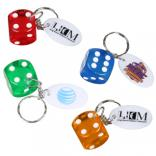 Lucky Dice Key Chain