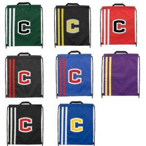 Double Strip Beekman Drawstring Bag