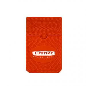 Basketball Themed Silicone Cell Phone Wallet
