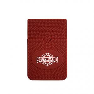Football Themed Silicone Cell Phone Wallet