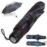 Plaid Print 40 Inch Umbrella