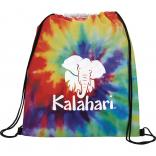 Tie Die Drawstring Backpack