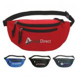 Delta Double-Zip Fanny Pack