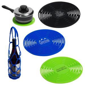 Multipurpose Silicone Bottle Carrier Placemat