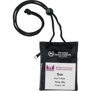 Trade Show Badge Holder/Pouch