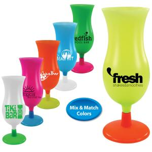 14 oz Mix and Match Neon Hurricane Cup