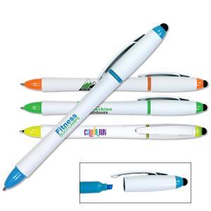 3 in 1 Highlighter/Pen/Stylus Combo