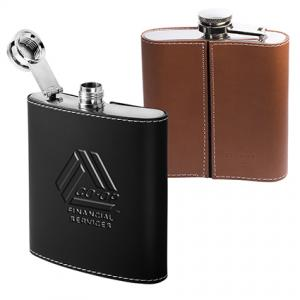 Roma 6oz Flask with Wrap