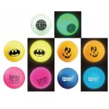 Official USATT 40mm Glow In The Dark Ping Pong Balls