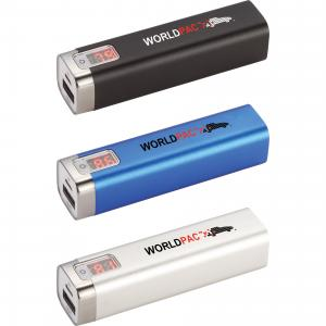 2200 mAh UL Listed Jolt Charger with Digital Power Display