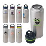 Eco Green 40 oz. Stainless Steel Vacuum Water Bottle