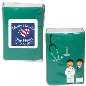 Pre-Printed Doctor&Nurse Tissue Pack