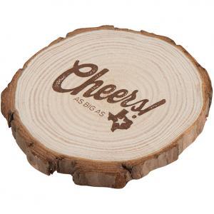 Natural Wooden Circle Coaster