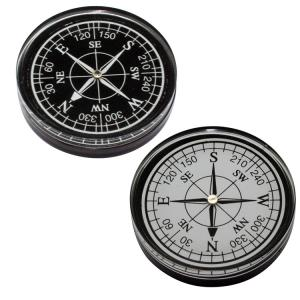 Resin Pocket Compass Paperweight