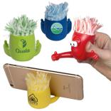 MopTopper Stress Reliever Phone Stand Duster