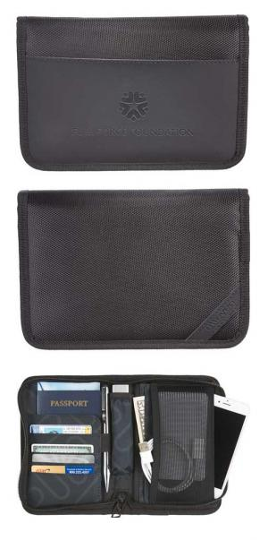 elleven RFID Travel Wallet with Power Pocket