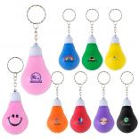 Full Digital Color BRIGHT IDEA Light Bulb Keychain