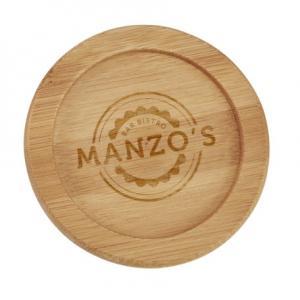 Eco-Friendly Bamboo Coasters