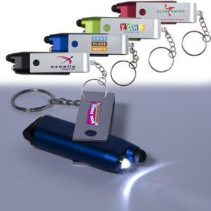 Swivel Stylus Keychain Light