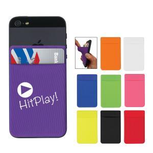 Stretchy Spandex Phone Card Sleeve