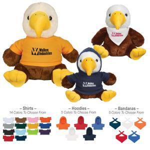 6 inch Stuffed Bald Eagle