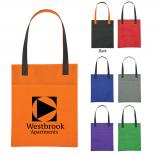 Non-Woven Water Resistant Brochure Tote Bag