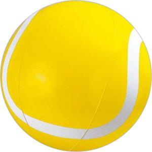 "16"" Yellow Inflatable Tennis Ball Beach Ball"