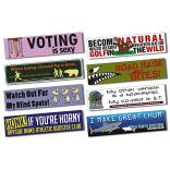 11.5 x 3 Magnetic Vehicle Bumper Sign