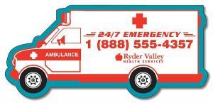 5.25 x 2.42 Ambulance Magnetic Vehicle Bumper