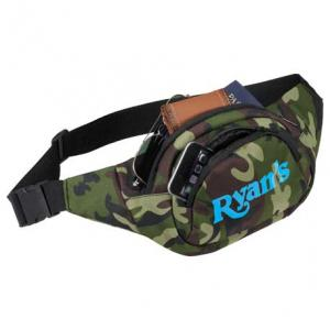PolyCanvas Camouflage Fanny Pack