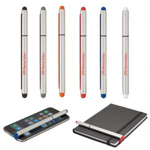 Ball Point Rubber Stylus Pen with Elastic Strap