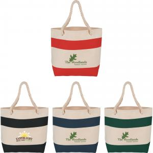 16oz. Classic Cotton Rope Handle Tote